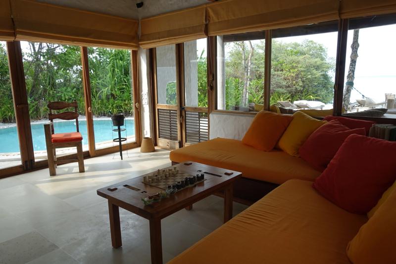 Soneva Fushi Crusoe Villa Living Room