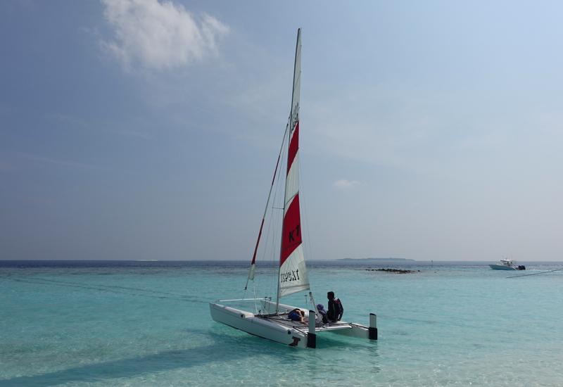 Soneva Fushi Things to Do: Sailing