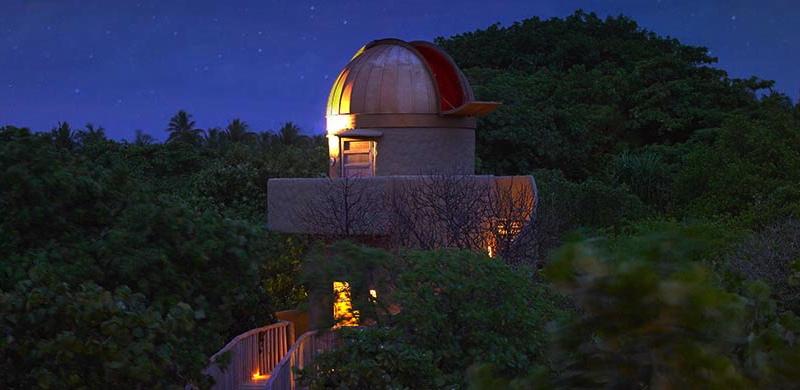 Soneva Fushi Observatory for Star Gazing