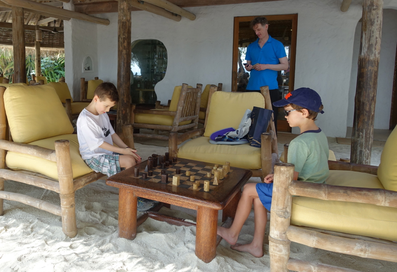 Playing Chess with a Friend, Soneva Fushi