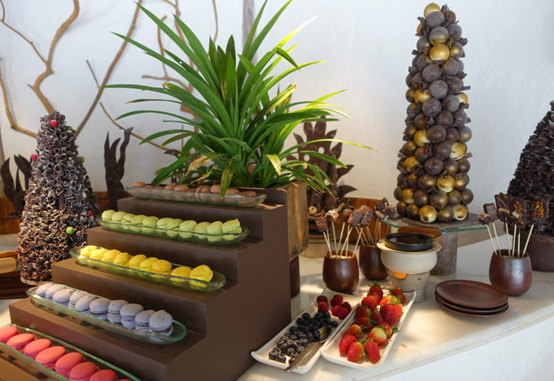 Soneva Fushi Breakfast, Ice Cream Room, Chocolate Room and Cheese Room