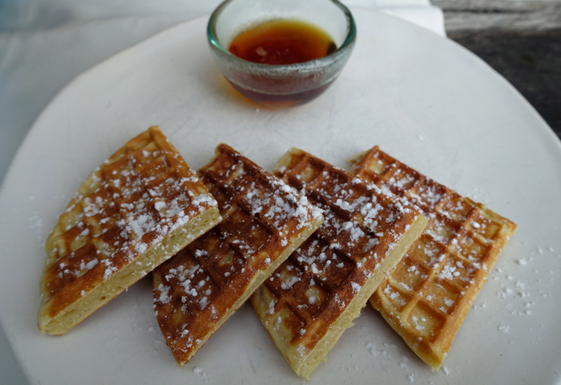 Waffles, Soneva Fushi