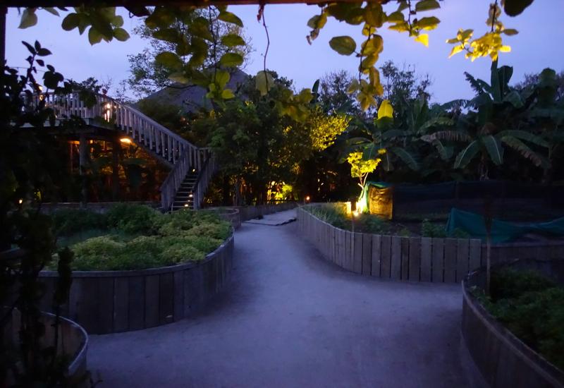 Entrance to Fresh in the Garden, Soneva Fushi Review