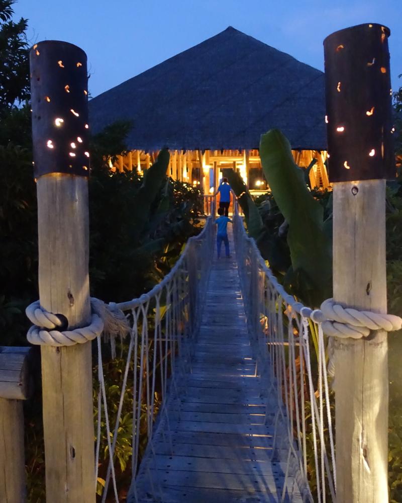 Bridge to Fresh in the Garden, Soneva Fushi