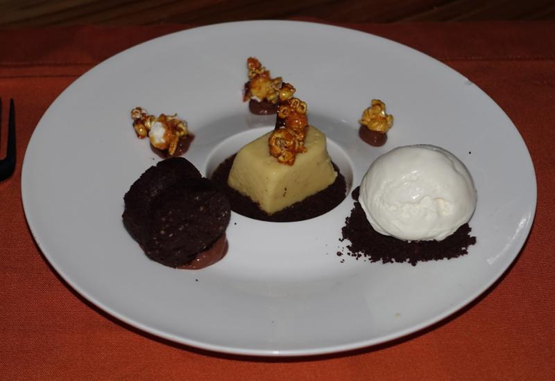 Sweet Corn with Chocolate Cremeaux, Fresh in the Garden, Soneva Fushi