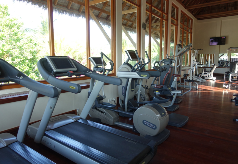Fitness Center, Conrad Maldives Rangali Island