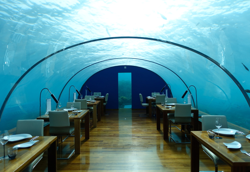 Conrad Maldives Restaurant Menus and Review-Ithaa Undersea Restaurant