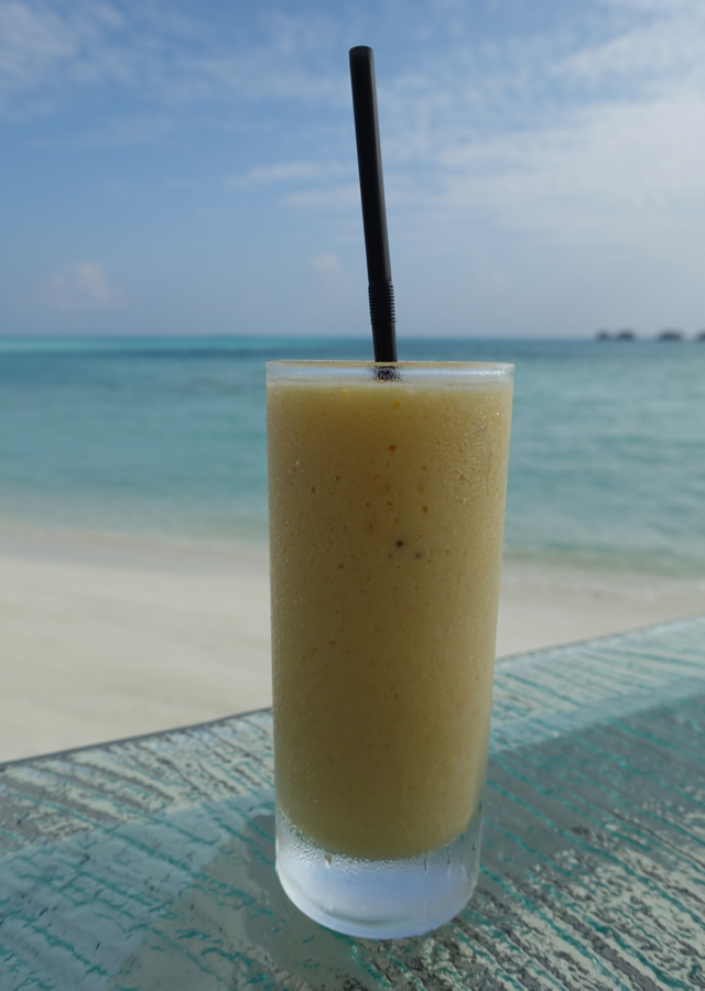 Worst Fresh Squeezed Juice in the Maldives