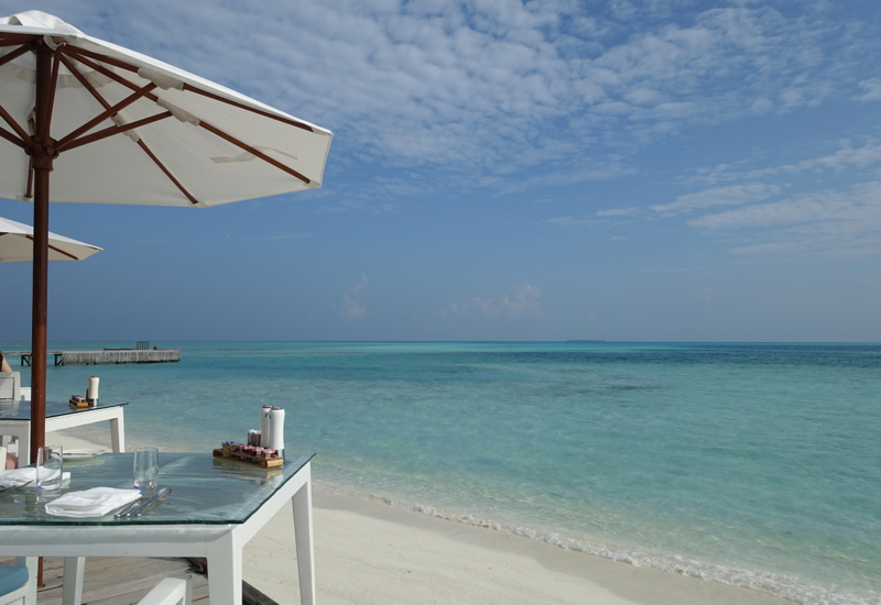 Conrad Maldives Restaurant Menus and Review-View from Vilu
