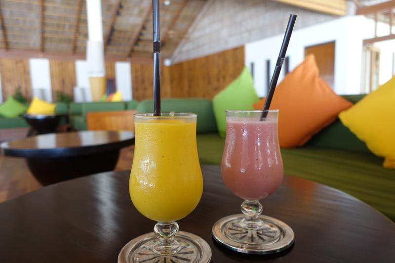 Smoothies, Rangali Bar, Conrad Maldives