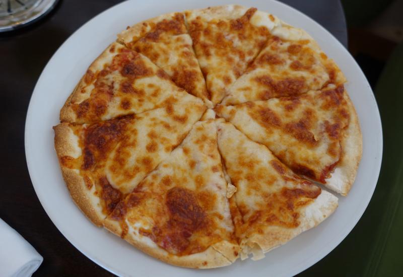 Pizza at Rangali Bar, Conrad Maldives