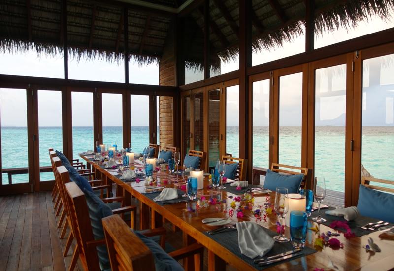 Mandhoo Restaurant, Conrad Maldives
