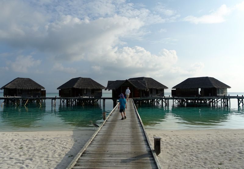 Jetty to Superior Water Villas, Conrad Maldives Rangali Island