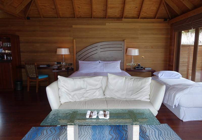 Superior Water Villa King Bed (Very Hard), Conrad Maldives