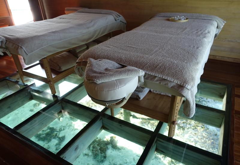 Conrad Maldives Things to Do: Over Water Spa at Rangali Island