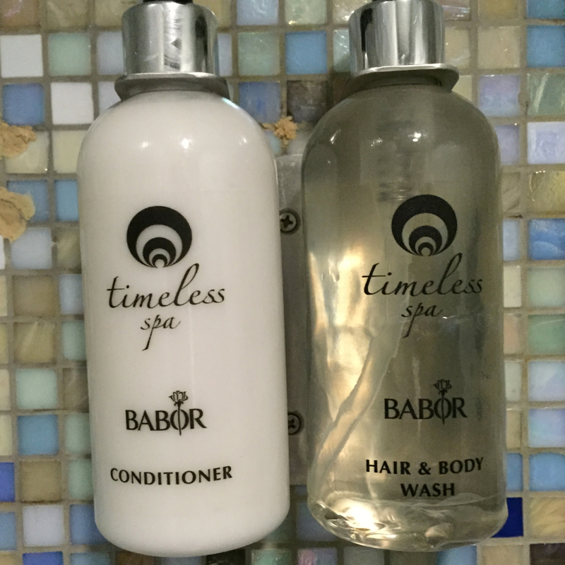Timeless Spa Babor Bath Products, Emirates First Class Lounge Dubai Shower Suite