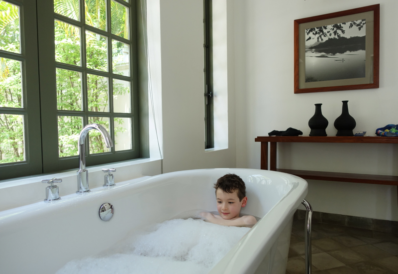 Amantaka Suite Review-Soaking Tub