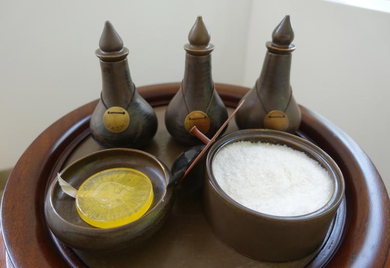Amantaka Review-Homemade Frangipani Bath Products