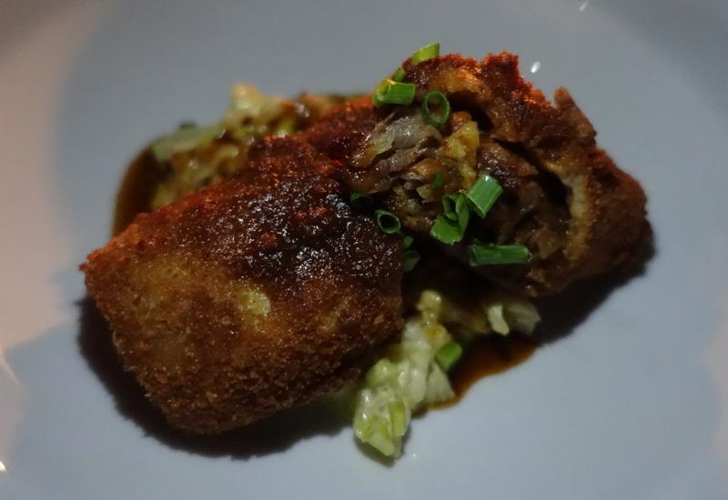 Duck Spring Roll with Tamarind Sauce, Amantaka
