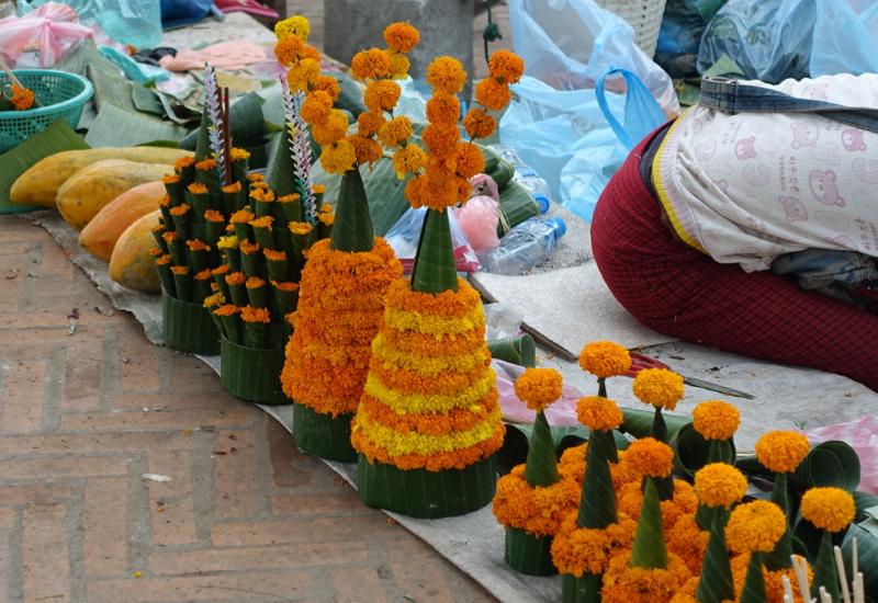 Flower Offerings, Luang Prabang Morning Market