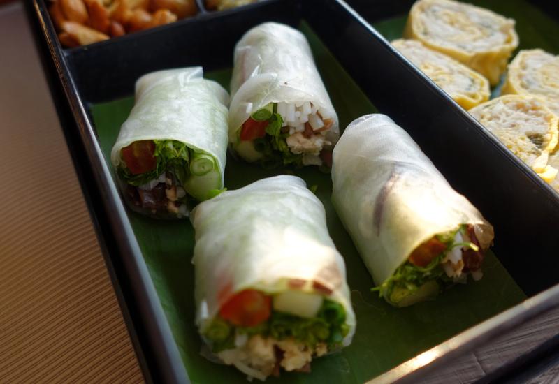 Amantaka Snacks on Sunset Cruise, Luang Prabang