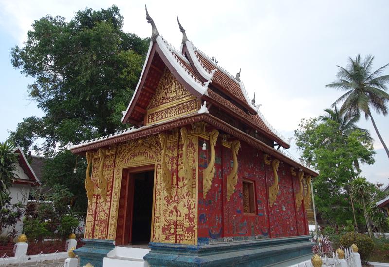Top Things to Do in Luang Prabang-Red Chapel by Wat Xieng Thong