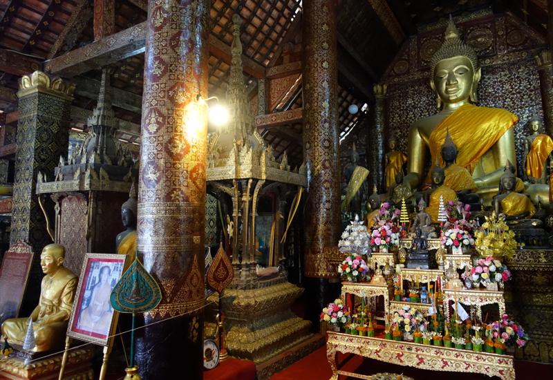 Buddha, Wat Xieng Thong, Luang Prabang