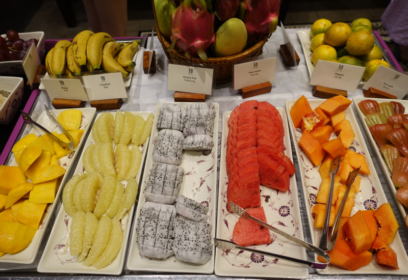 Fresh Fruit, Breakfast at Sofitel Legend Metropole Hanoi