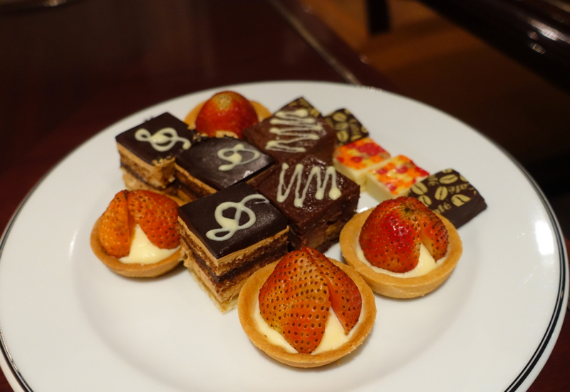 Club Lounge Afternoon Tea Pastries, Sofitel Metropole Hanoi