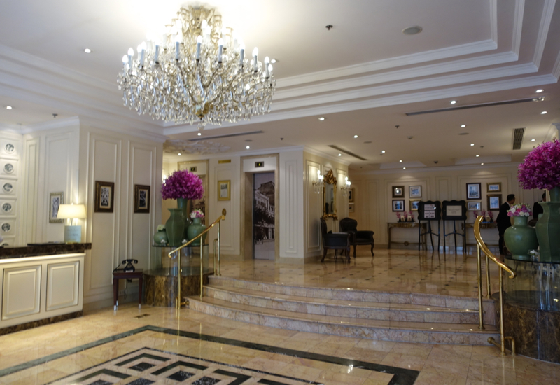 Sofitel Legend Metropole Hanoi Review-Lobby