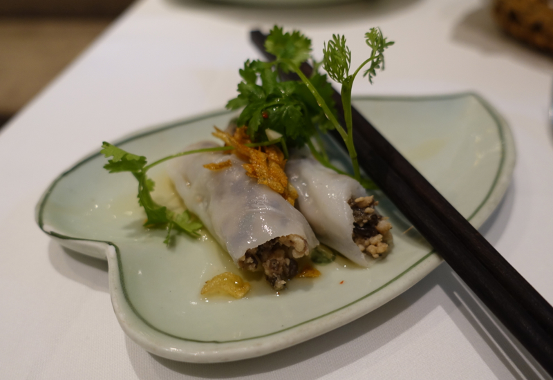 Banh Cuon (Fresh Stuffed Rice Rolls), Sofitel Legend Metropole Hanoi Review