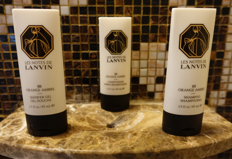Les Notes de Lanvin Orange Ambre Bath Products, Sofitel Legend Metropole Hanoi