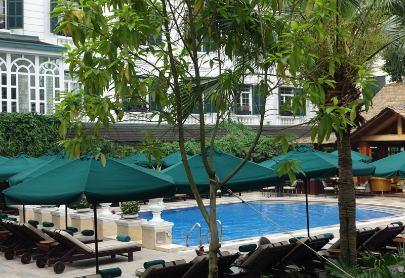 Swimming Pool, Sofitel Legend Metropole Hanoi Review