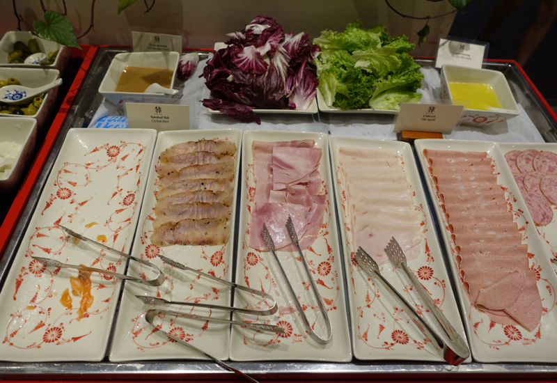 Breakfast Cold Cuts, Sofitel Legend Metropole Hanoi Review