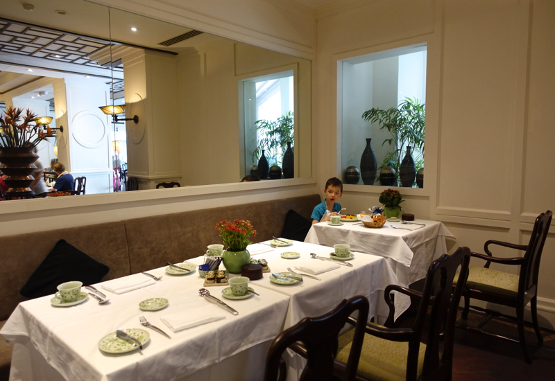 Sofitel Legend Metropole Hanoi Review-Spices Garden Restaurant Seating