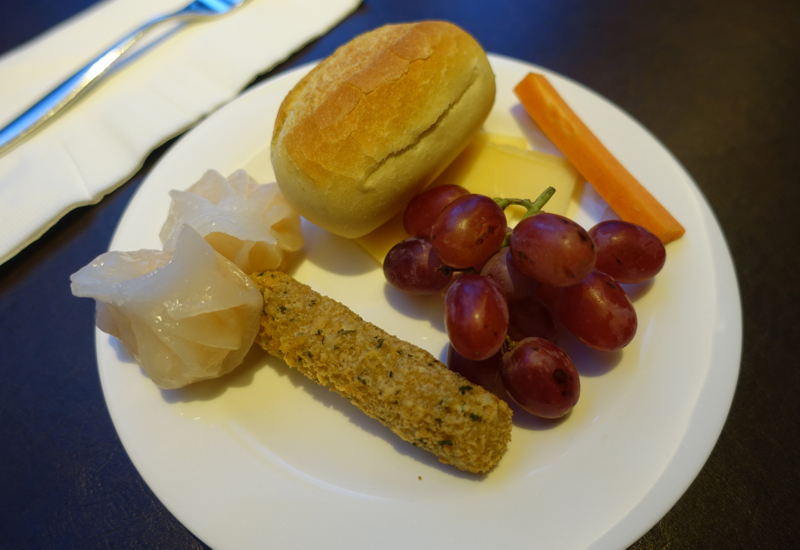 Club Lounge Evening Appetizers, Crowne Plaza Singapore Changi Airport Hotel Review