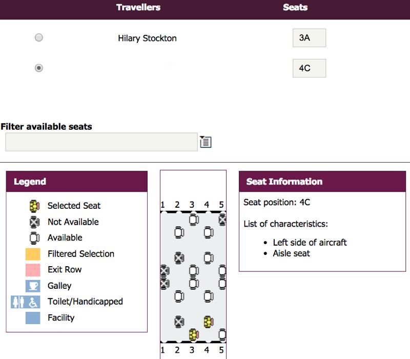 Select Air Berlin Seats Online on Qatar Airways Web Site