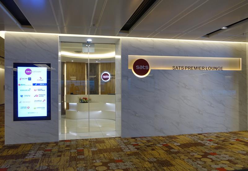 SATS Premier Lounge, Singapore Changi Airport Terminal 1