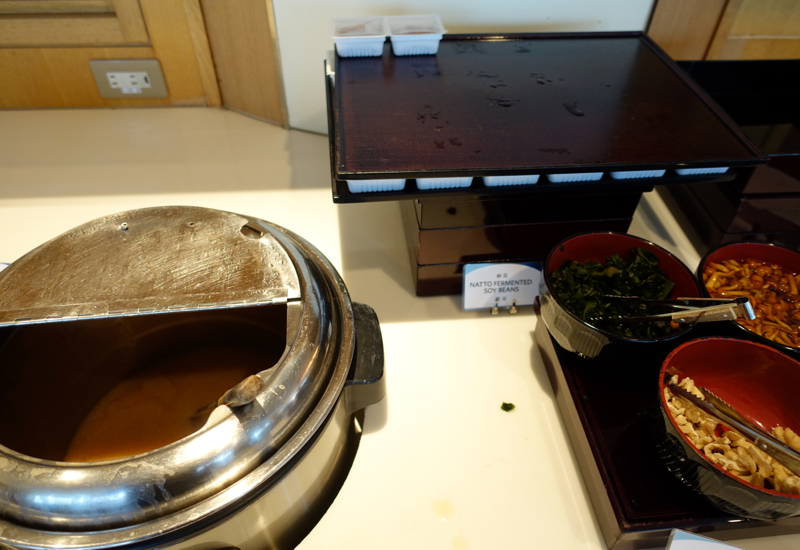 Miso Soup and Natto for Breakfast-Hilton Tokyo Narita Airport Hotel Review