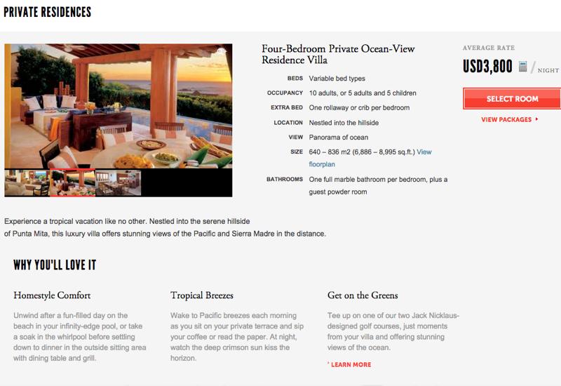 Four Seasons Residential Rental: Four Seasons Punta Mita Four Bedroom Residence