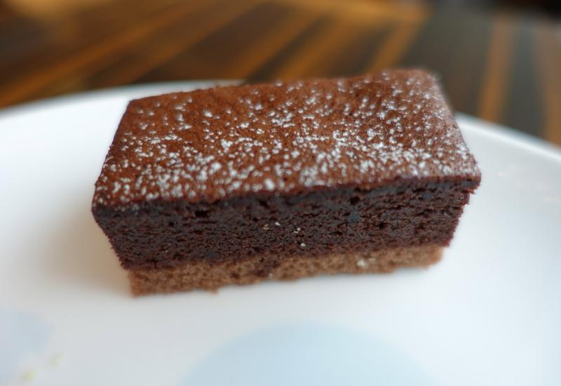 Chocolate Cake, JAL First Class Lounge Tokyo Narita