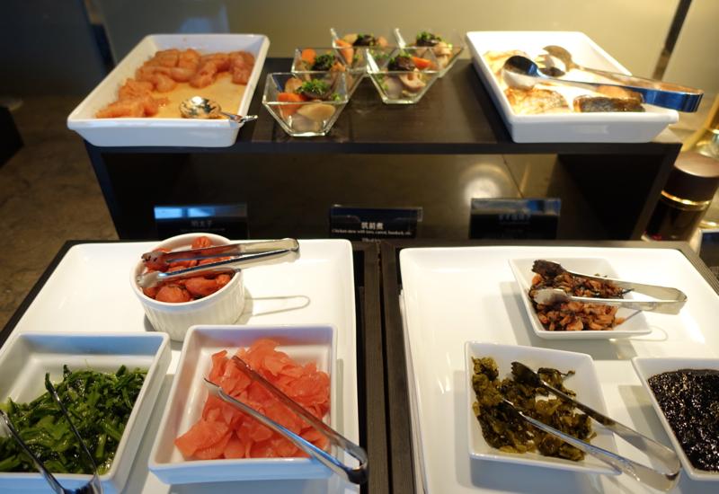 Review-JAL First Class Lounge Tokyo Narita-Japanese Food