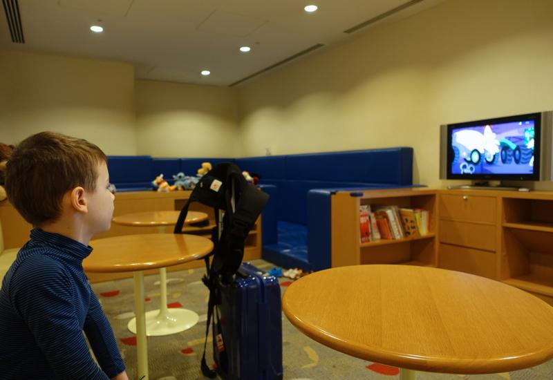 Kids' Play Room, JAL Sakura Lounge Tokyo Narita