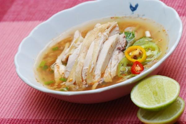 Chicken Noodle Soup, Mae Sri Ruen, Pattaya