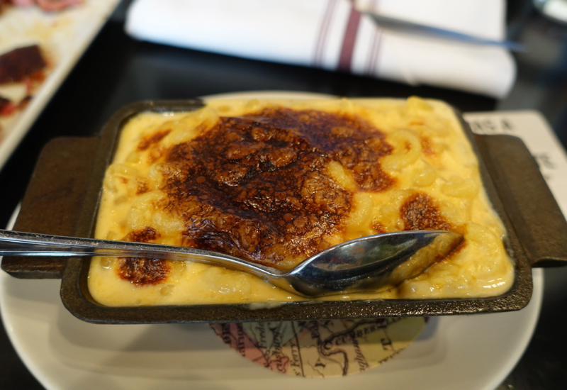 Mac and Cheese, Blue Smoke, NYC Brunch Review