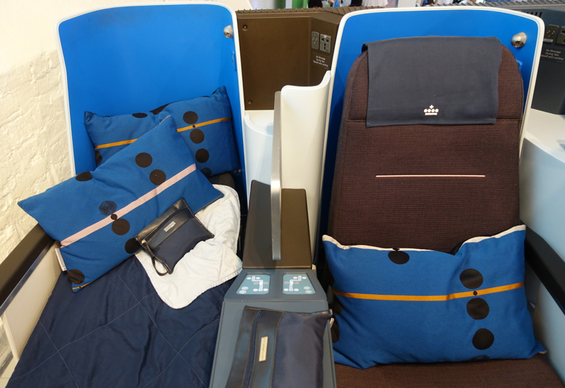 KLM New Business Class Seats