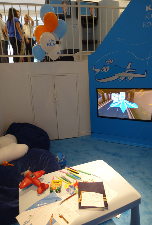 Kids' Corner, KLM Pop Up Store, NYC