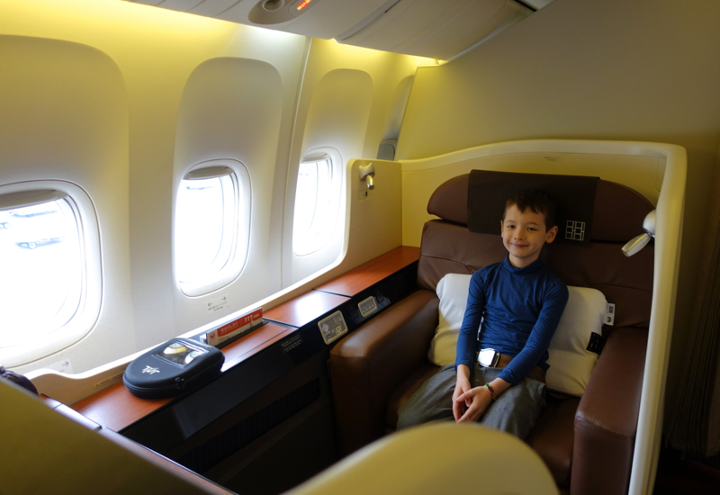 Captivating JAL First Class