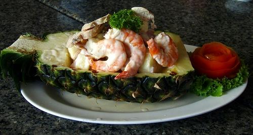 Seafood at Nang Nual, Jomtien Beach, Thailand