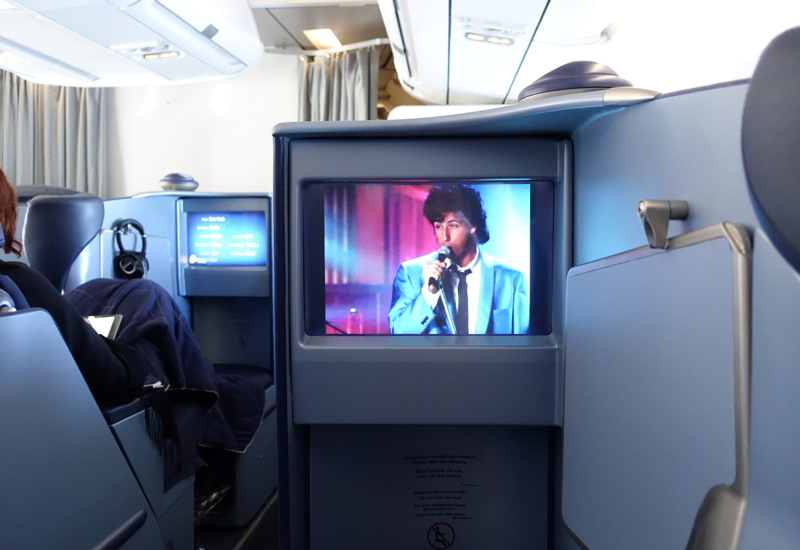 Air Business Class Review-IFE-Movies-The Wedding Singer